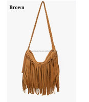 Fashion design wholesale bags set leather shoulder bag Fringe bag 2014