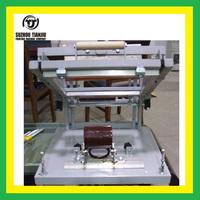 manual cylinder screen printing machine