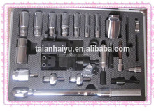 Price is cheap !!! common rail tool kit with easy to use and 25pcs