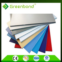Greenbond manufactured home wall aluminum composite panel