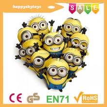 Happy kid toys!!!customized minion plush toy,lovely minion toy,wonderful minion plush toy