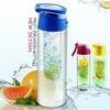 High quality fruit water bottle 2016 customizable logo blender shake bottle