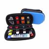 PU Leather EVA Big Capability USB Flash Drives Bag For Mobile phone