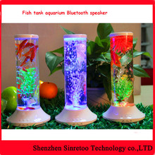 Water can be Changed Fish Tank Speaker Water Dancing Tower Speaker