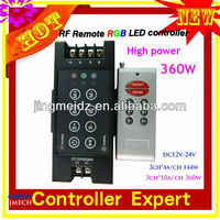 programmable 12V High power 360W rgb led controller with memory