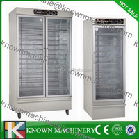 Used in small bread store single door bread prover,bread proving oven