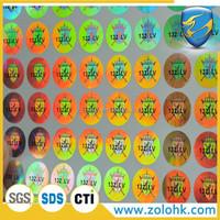 Hologram 3D sticker, custom hologram sticker, make hologram stickers