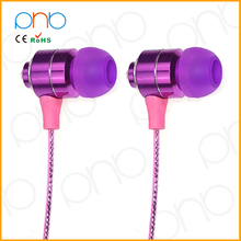 2014 new promotional products novelty items consumer electronic ear phone used mobile phone