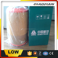 Truck Air Filter K2841 HOWO Truck Parts for SINOTRUK WG9725190102 WG9725190103 Air Filter