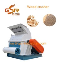 factory low price good wood work machinery waste pallet log dryer woods crusher/small piece wood grinder/sawdust hammer mill
