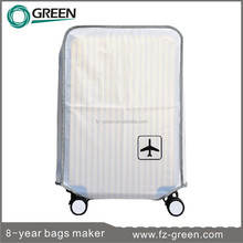 2015 Waterproof Clear PVC Luggage Cover