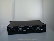 2015 Top rank 14/16 Slots Unmanaged Media Converter Chassis;Dual AC power supply for telecommunication