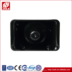 Wireless waterproof warning speaker for police vehicles