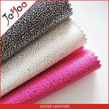 two tone colors pu shoes face leather / raw material for shoe making