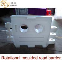 High quality plastic waterfilling traffic barrier for highway and expressway