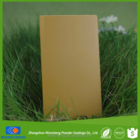 Brown Beige Semi Gloss Spray Powder Paint