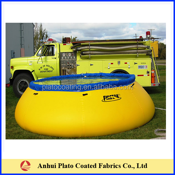 Customized pvc coated water tank containeron hot sale in for Plastic hot water tank