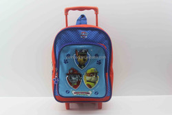 Kids trolley school bag, kids school bag with wheels for girls