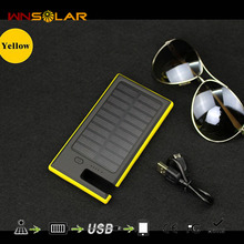 OEM/ODM waterproof solar charger for mobile phone 12000mah solar charger battery charger