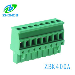 Quality First Vertical Terminal Blocks 5.08mm pitch plug-in type