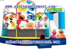 SESAME STREET Inflatable combo, inflatable bounce house for kids, inflatable jumper SP-C6015
