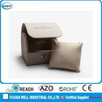 single fashionable leather watch box for father gift