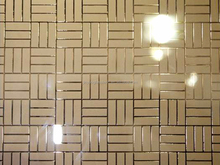 Jinyao acid etched glass for internal decoration