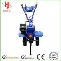 Hand start Rotary tiller with 6hp gasoline engine