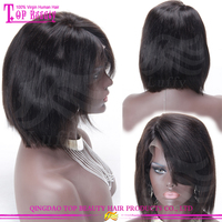 Celebrity wig 130 Density Sewing Hair To Wig For Asian Women