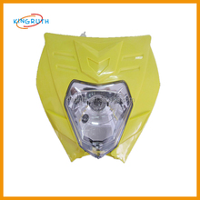 China motorcycle spare parts FOR yellow motorcycle led headlight