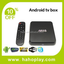 Top Tv Box M8s Amlogic S812 Quad Core 4k Xbmc Tv Box Android 4.4 With Xbmc Kodi Android Media Player Smart Tv Box Android