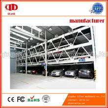 6 Level Multimedia Car Puzzle Parking System