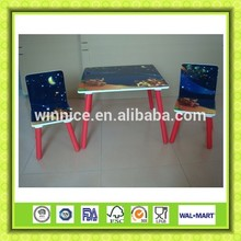 MDF children's table and stool set