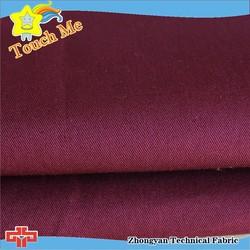 Uniform cloth 100% cotton twill fabric