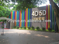 Exciting 5D cinema equipment with special effects hot sale