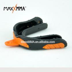 MaxxMMA Advanced Antibacterial Single Gum Shield with Helmet Strap Socket