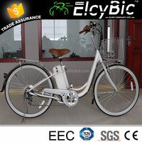 36v lead acid battery electric bike 26inch alloy rims for lady(E-TDH08A)