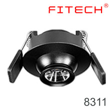 high quality 1w led downlight with spring clip with zoomable spotlight cri>80
