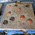 Mi dino- decoración de la navidad de los animales prehistóricos modelo de esqueleto fósil de shell para la venta