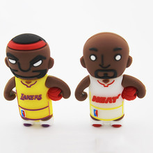2015 Alibaba china mix order usb flash drive 8GB usb stick heat lakers basketball usb pen drive