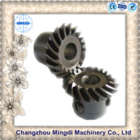 used scania engine motorcycle wheels / differential gears Steel Spiral Bevel Gear