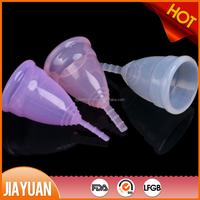 Reusable medical silicone menstrual cup