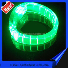 Light UP Motion Activated LED Bracelet For Promotional Gift, Pubs, Concert, Holidays, Night Racing Or Party Usage