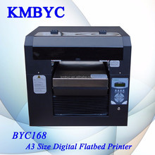a3 size high speed BYC168-3 digital eco solvent flatbed printer