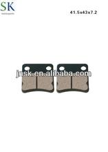 Motorcycle brake parts DIO BRAKE PAD china manufacturer for suzuki,yamaha,honda,piaggio, vespa,kawasaki,triumph, peugeot