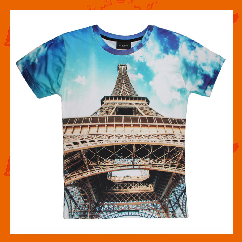 2015 Custom Printed T Shirts No Minimum Wholesale Buy No