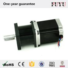 made in china 4:1 to 100:1 ratio planetary geared nema 23 gearbox stepper motor