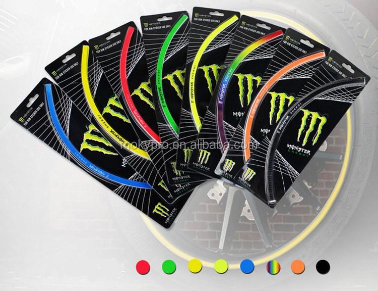Aparador De Pelos Nariz ~ 17 inches aro da roda adesivo para carro moto bicicleta