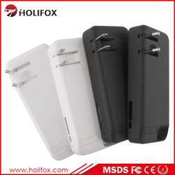 4200mAh High Quality Rechargeable Battery Power Case For iPhone 5 With AC Adapter