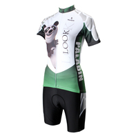 wholesale women Cartoon cycling wear jersey+shorts short sleeve bicycle sets bike clothes ILPaladino #DT-159